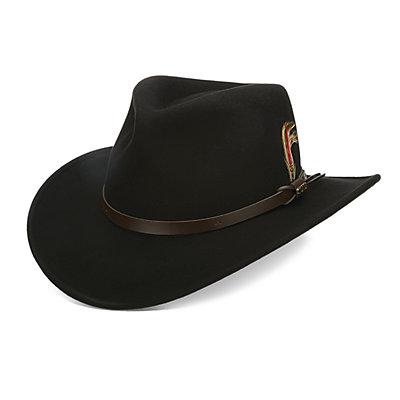 Men's Scala Classico Crushable Felt Outback Hat