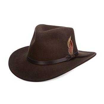 Men s Scala Classico Crushable Felt Outback Hat d9519830383
