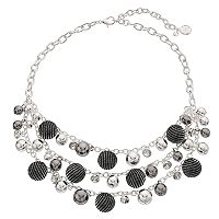 Dana Buchman Chain Wrapped Swag Necklace