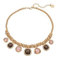 Dana Buchman Geometric Statement Necklace