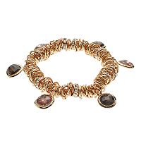 Dana Buchman Geometric Stone Stretch Bracelet