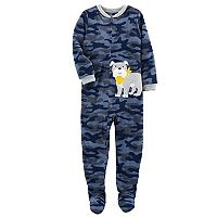 Boys 4-8 Carter's Dog 1-Piece Footed Pajamas
