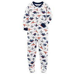 Boys 4-8 Carter's  Dinosaur 1-Piece Footed Pajamas