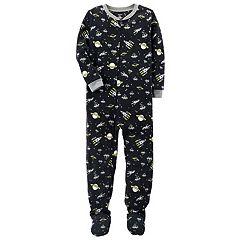 Boys 4-8 Carter's  Space 1 pc Footed Pajamas