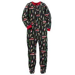 Boys 4-8 Carter's  Christmas Tree 1 pc Footed Pajamas