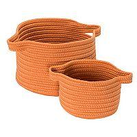 Colonial Mills Lifestyle 2-piece Storage Basket Set