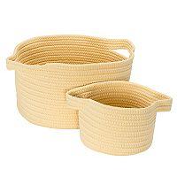 Colonial Mills Lifestyle 2 pc Storage Basket Set
