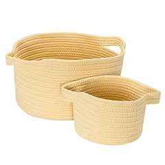 Colonial Mills Lifestyle 2-piece Storage Basket Set