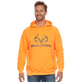 Men's Realtree Fleece Pullover Logo Hoodie