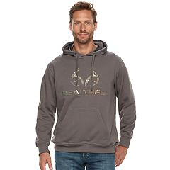 Men's Realtree Fleece Pullover Logo Hoodie