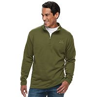Men's Real Tree Quarter-Ziip Polar Fleece Top