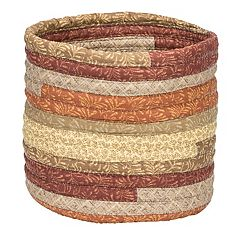 Colonial Mills Quilter's Print Fabric Storage Basket