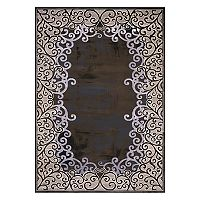 United Weavers Christopher Knight Mirage Luminous Filagree Framed Rug - 2'7