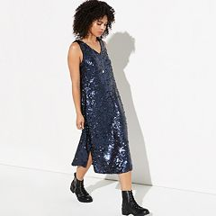 k/lab Sequin Midi Dress
