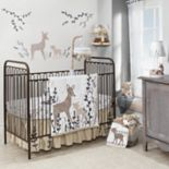 Lambs & Ivy 3-pc. Meadow Deer Crib Bedding Set