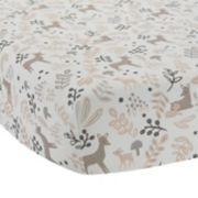 Lambs & Ivy Meadow Fitted Crib Sheet