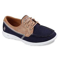 Skechers GOwalk Lite Coral Women's Boat Shoes