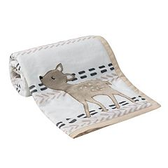 Lambs & Ivy Meadow Fawn Blanket