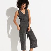 k/lab Metallic Knit Jumpsuit