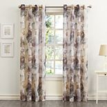 No. 918 1-Panel Andorra Crushed Sheer Window Curtain