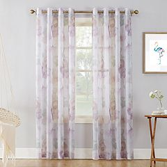 No 918 1-Panel Andorra Crushed Sheer Window Curtain