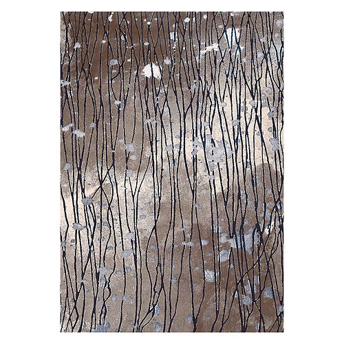 """United Weavers Christopher Knight Mirage Glimmer Abstract Rug - 2'7"""" x 3'11"""""""