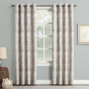 Sun Zero Darren Distressed Blackout Window Curtain