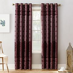 Sun Zero Elidah Theater Grade Extreme Blackout Window Curtain