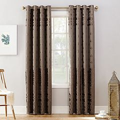 Sun Zero Extreme Elidah Theater Grade Blackout Window Curtain