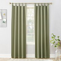 Sun Zero Brant Blackout Window Curtain