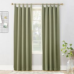 Sun Zero Ludlow Blackout Tab Top Window Curtain