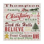 Thirstystone OCS Family Christmas 4 pc Coaster Set