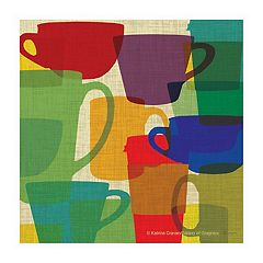 Thirstystone OCS Kitchen Cups 4 pc Coaster Set