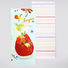 Food Network™ 'Sangria' Kitchen Towel 2-pk.
