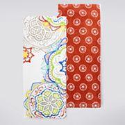 Food Network™ Floral Medallion Kitchen Towel 2 pk