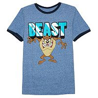 Boys 8-20 Looney Tunes Taz Tee