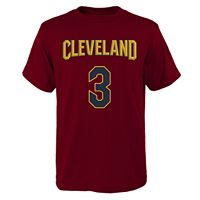 Boys 8-20 Cleveland Cavaliers Isaiah Thomas Player Name & Number Replica Tee