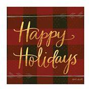 Thirstystone OCS Happy Holidays 4 pc Coaster Set