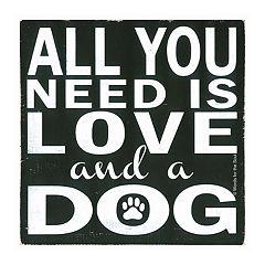 Thirstystone OCS Love and a Dog 4-pc. Coaster Set