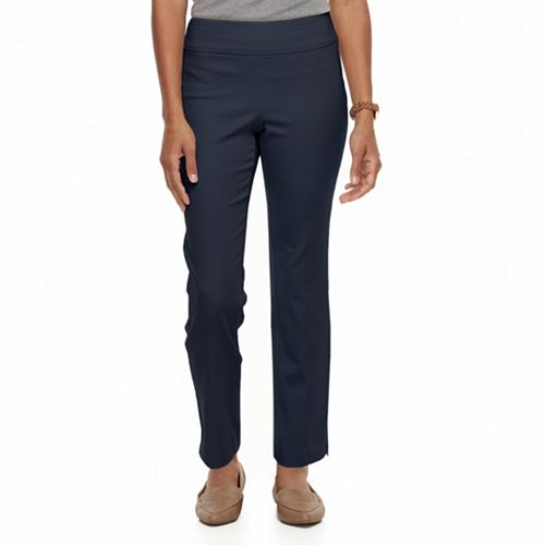 Petite Croft & Barrow® Super Stretch Twill Ankle Pants