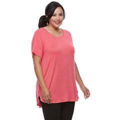 Plus Size Apt. 9® High-Low Tunic