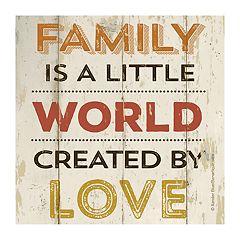 Thirstystone OCS Family Home Love 4 pc Coaster Set