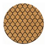 Thirstystone Cork Coaster Set - Lattice 4 pc Coaster Set