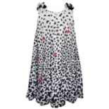Girls 4-6x Blueberi Boulevard Butterfly Chiffon Dress