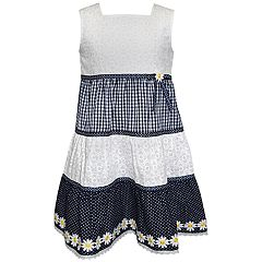 Girls 4-6x Blueberi Boulevard Daisy Tiered Sundress