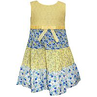 Girls 4-6x Blueberi Boulevard Floral Tiered Sundress