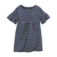 Toddler Girl Carter's Striped Dress