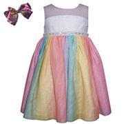 Girls 4-6x Blueberi Boulevard Glittery Tulle Dress
