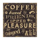 Thirstystone OCS Coffee Quote II 4 pc Coaster Set