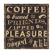 Thirstystone OCS Coffee Quote II 4 pc Coaster Set